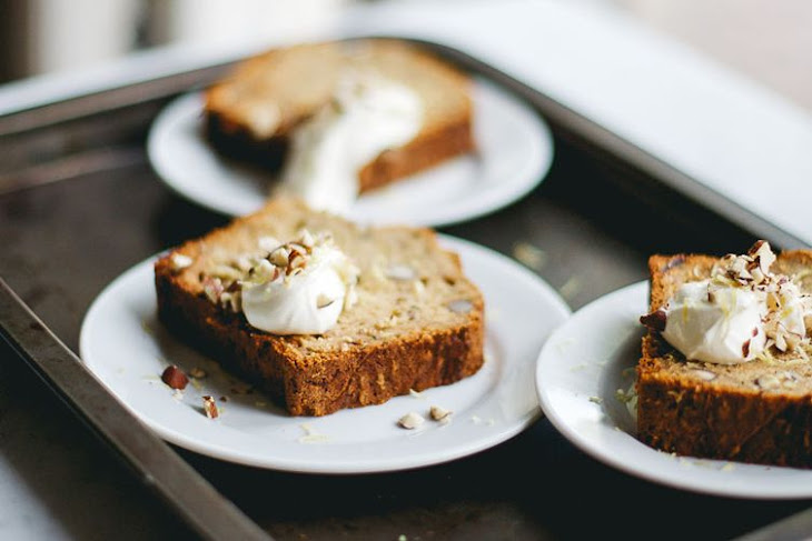 Zucchini Bread with Dates and Hazelnuts Recipe | Yummly