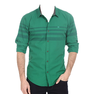 Man Casual Shirt Photo Suit