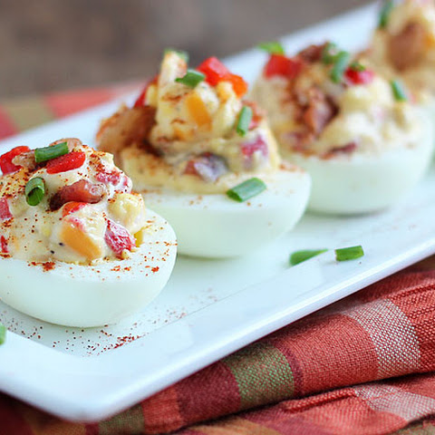 Pimento Cheese Deviled Eggs