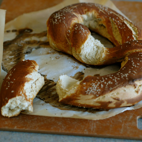 Traditional German Pretzels