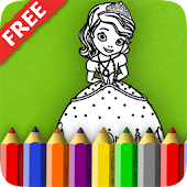 Download First Coloring Book for Sofia APK on PC