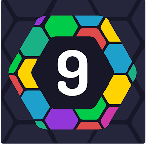 UP 9 - Hexa Puzzle! Merge Numbers to get 9 Online PC (Windows / MAC)