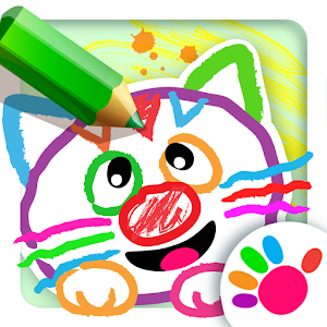 Drawing for Kids! Coloring Children Games Toddlers Icon
