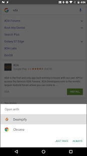DeAMPify Screenshot