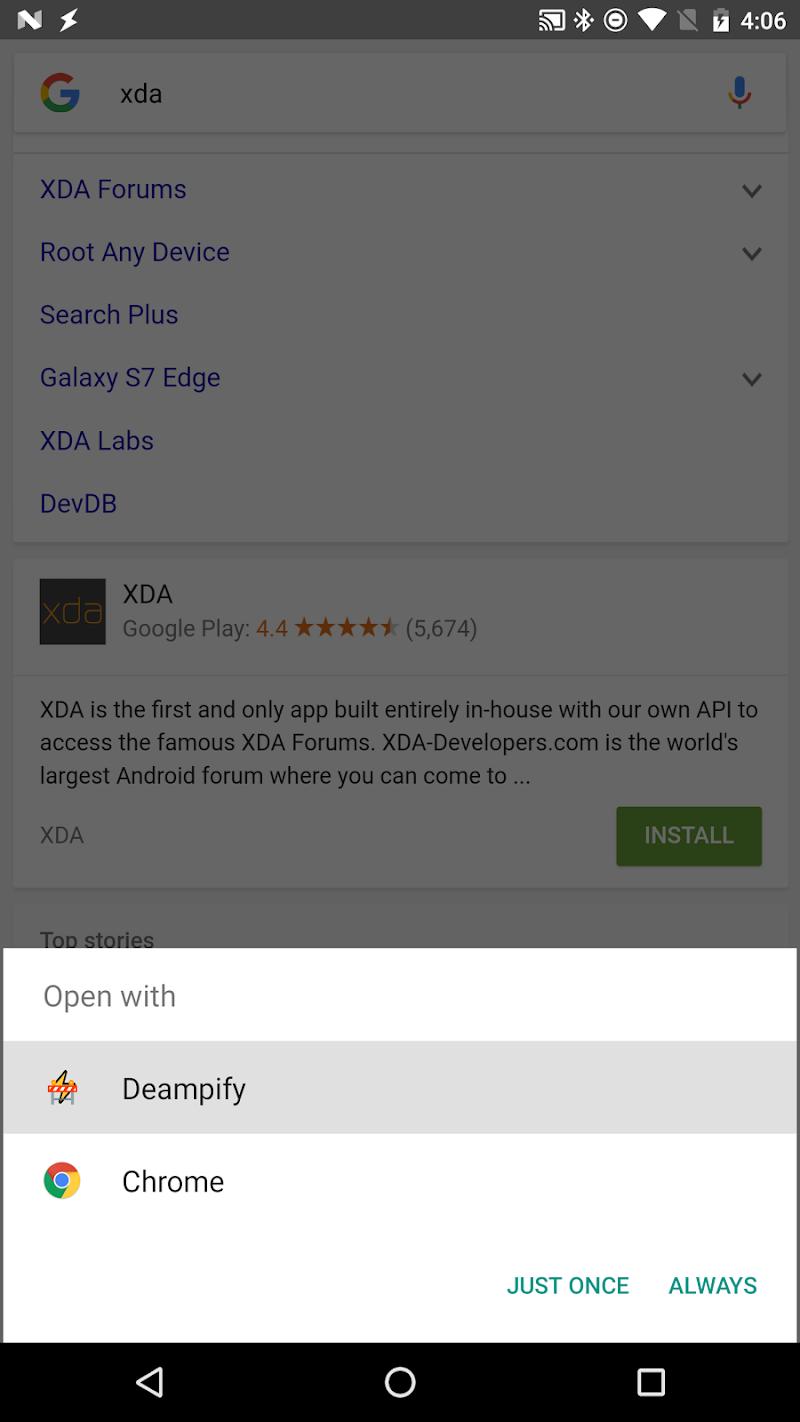DeAMPify Screenshot 0