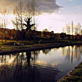 Final de dia by Ana Batista Constantino - City,  Street & Park  City Parks ( cidade, rua, cenários, lugares, parques )