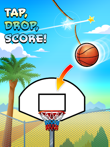 Basket Fall - screenshot