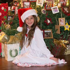 Santa Stella by Donna Cole - Babies & Children Child Portraits