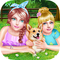 Game Sweet Sisters Cute Pet Fun Day APK for Windows Phone