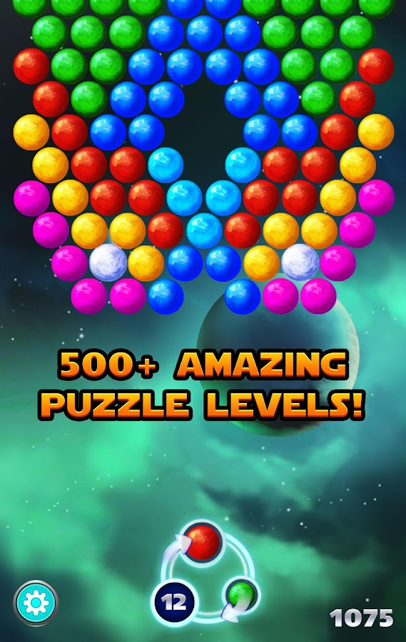 Bubble Shooter Supernova Screenshot