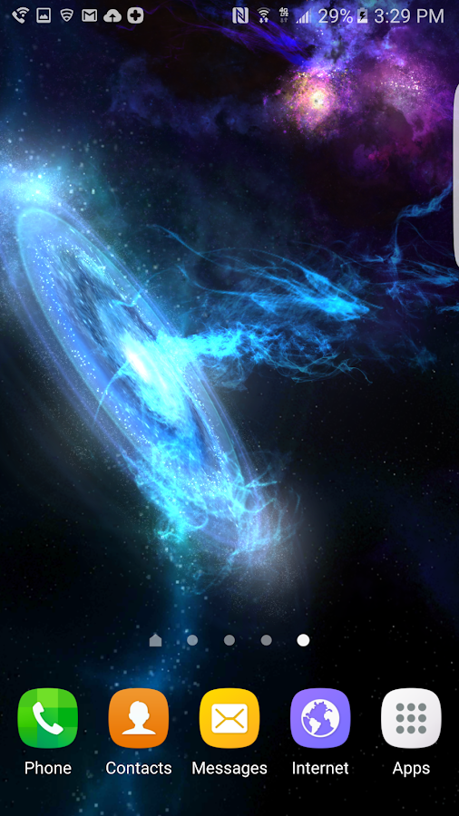 3D Galaxies Exploration LWP Screenshot 4