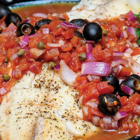 Grilled Fish with Provencal Sauce