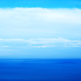lost in blue by Oreana Tomassini - Landscapes Waterscapes (  )
