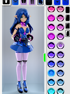ColorMinis Collection  : NEW Anime Models Screenshot