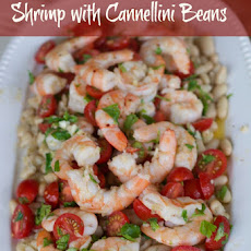 Shrimp with Cannellini Beans