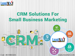 CRM Solutions For Small Business Marketing