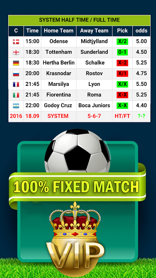 %100 FİXED MATCH Screenshot 2