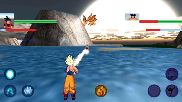 goku fury of warrior apk screenshot