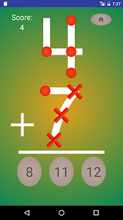 Digit Dots - Addition - screenshot