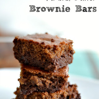 Almond Butter Brownie Bars