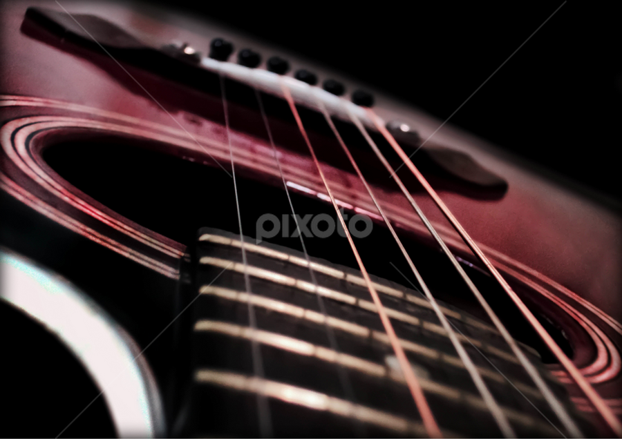 My Guitar My Click by Tanmoy Adhikari - Artistic Objects Musical Instruments