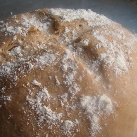 Basic Healthy Beautiful Bread - Artisan Whole Wheat Boule