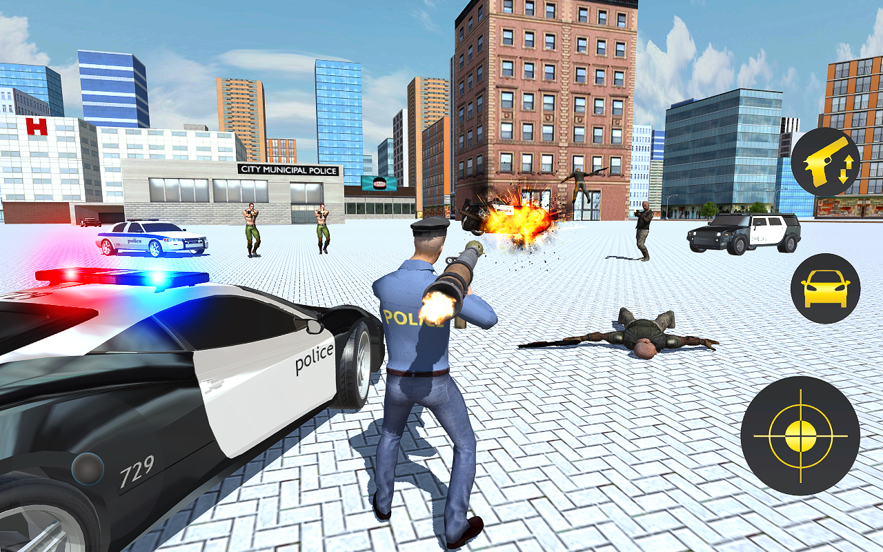 Polizei Kriminalstadt 3D android spiele download