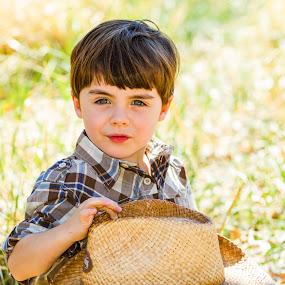My Hats Off To Ya  by Billy Brooks - Babies & Children Children Candids
