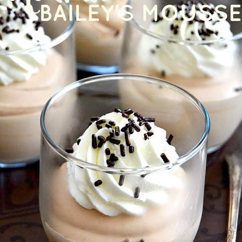 One Hour Bailey's Mousse