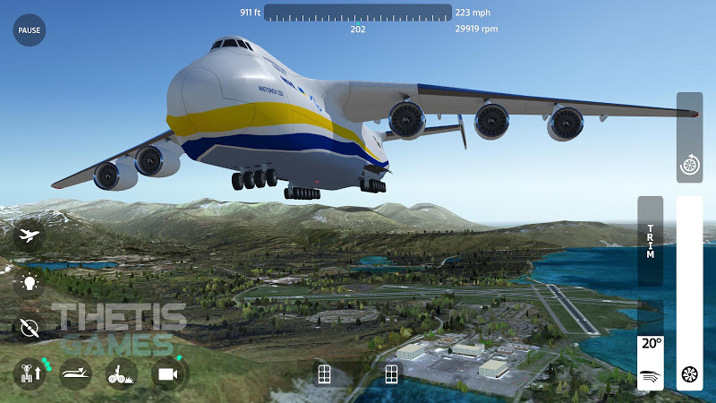 Flight Simulator 2018 FlyWings Free Screenshot 11