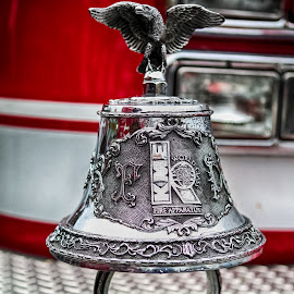 Fire Truck Bell by Debbie Slocum Lockwood - Artistic Objects Other Objects