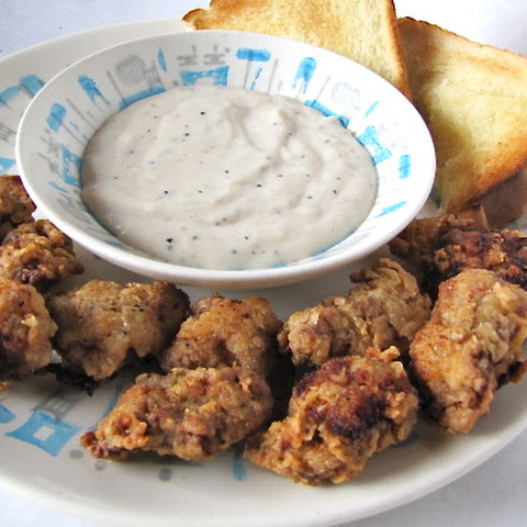 Chicken Fried Steak Bites with Country Gravy