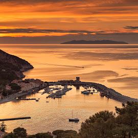 marciana marina by Constantin Gabriel Bogdan - Landscapes Sunsets & Sunrises (  )