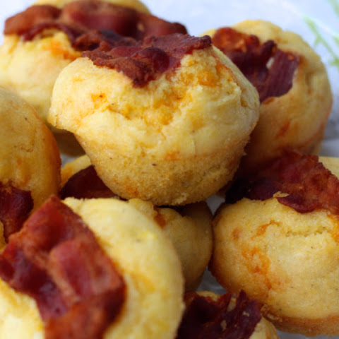 Bacon and Egg Corn Muffins