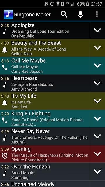 Ringtone Maker screenshots