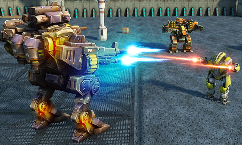 Mech Robot War 2050 Screenshot 1