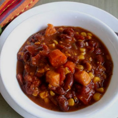 Slow Cooker Vegetarian Chipotle Chili