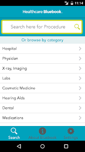 Healthcare Bluebook screenshot for Android
