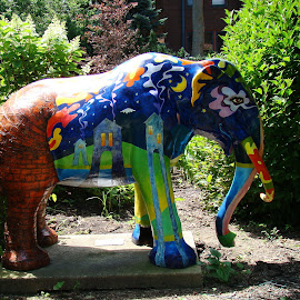 The Mastadon by Yvonne Collins - Artistic Objects Business Objects