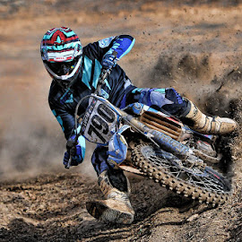 790 Berm by Richard Caverly - Sports & Fitness Motorsports
