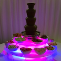 Chocolate fountain for a wedding in Norwich