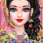 Indian Navratri Dressup & Maa Ambe Live Aarti Icon