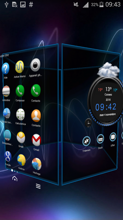 TSF Shell Theme Tfou HD Screenshot 6