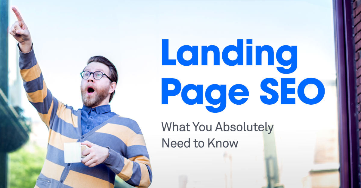 Landing Page SEO What You Absolutely Need To Know - Seo landing page template
