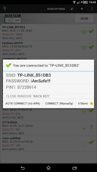 Wifi Unlocker WPS APK screenshot thumbnail 8