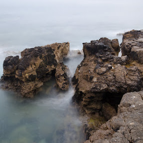 rocks by Miguel Lapa - Landscapes Waterscapes ( water, cascais, portugal, rocks )
