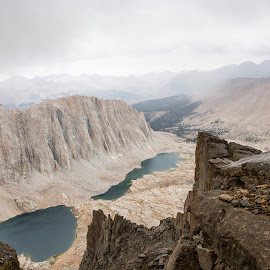 Guitar Lake from Whitney trail by Greg Head - Novices Only Landscapes ( clouds, water, mountains, lakes, weather, landscape, rocks,  )