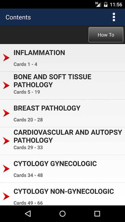 Anatomic Pathology Flashcards Screenshot 1