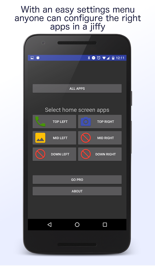 Senior Homescreen Pro Screenshot 3