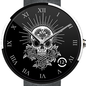 Skull Wear Watch Face